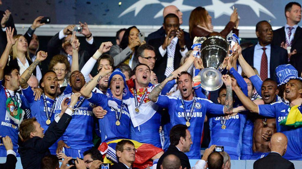 Chelsea, copa, Liga Campeones