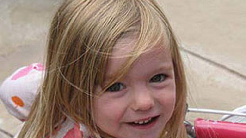 imagen de archivo de la pequeña Madeleine. Foto: Informativos Telecinco.