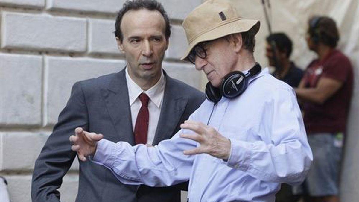 Woody Allen y Roberto Benigni