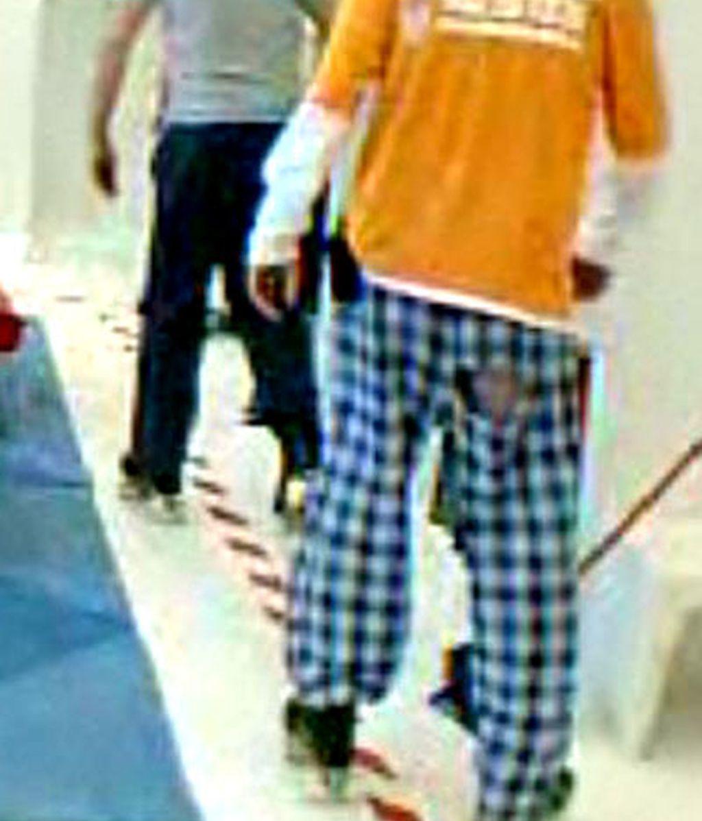Iván y su pijama de cuadros