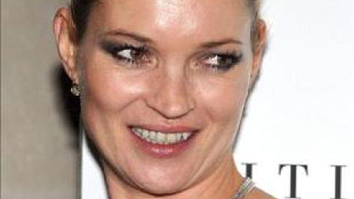 Lla modelo británica Kete Moss se ha convertido en una imagen de marca.