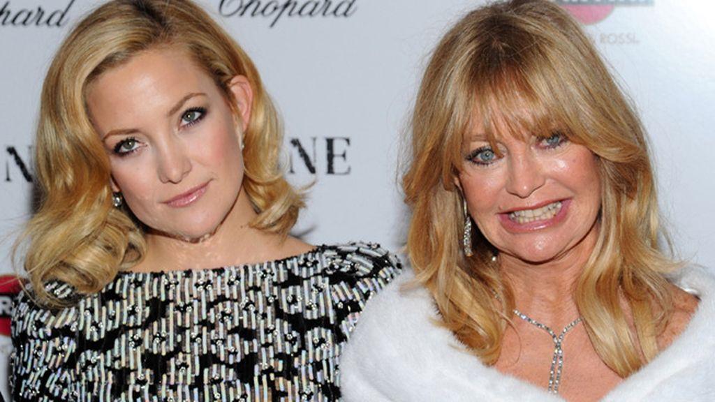 Kate Hudson y su madre Goldie Hawn