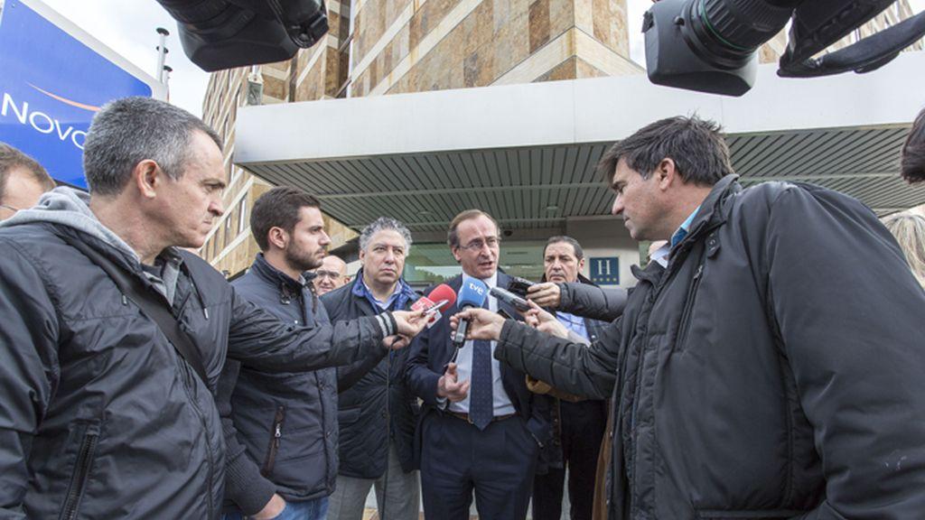 Alfonso Alonso hace campaña en Valladolid