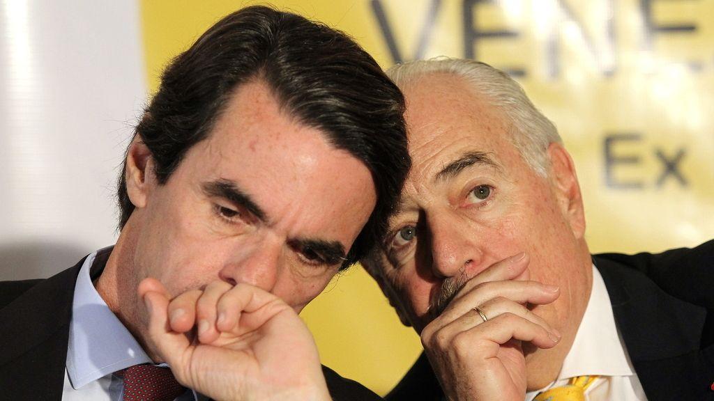 José María Aznar y Andrés Pastrana presentan la llamada Declaración de Panamá