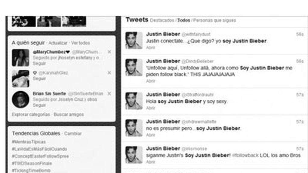 Bieber revoluciona Twitter