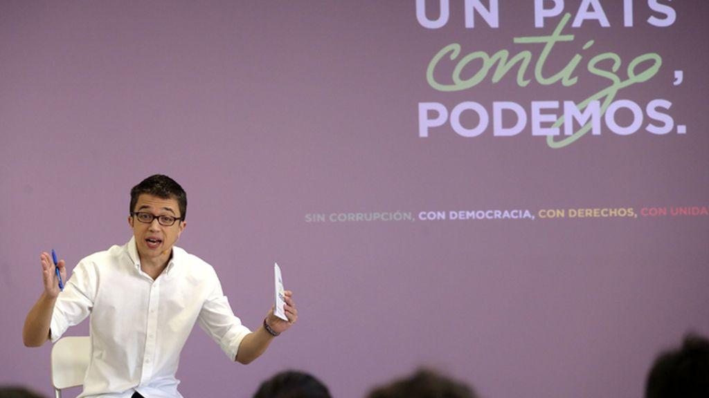 Errejón presenta la campaña de Podemos para el 20D