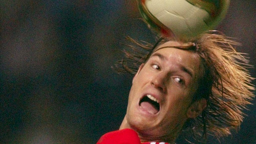 El futbolista húngaro del Benfica, Miklos Feher