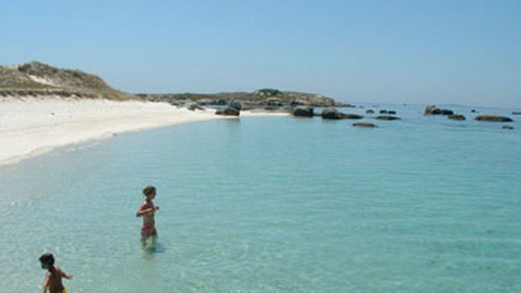 Playa de la Isla del Areoso
