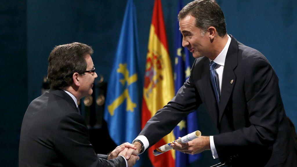 Jesús Etayo, Premio Princesa de Asturias de la Concordia
