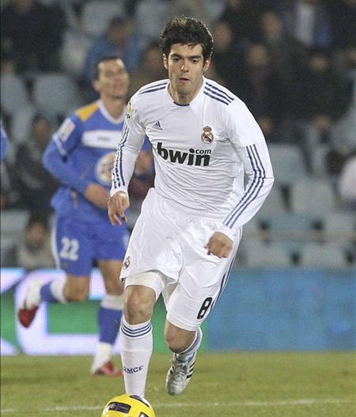 El centrocampista del Real Madrid Ricardo Dos Santos 'Kaká'. EFE
