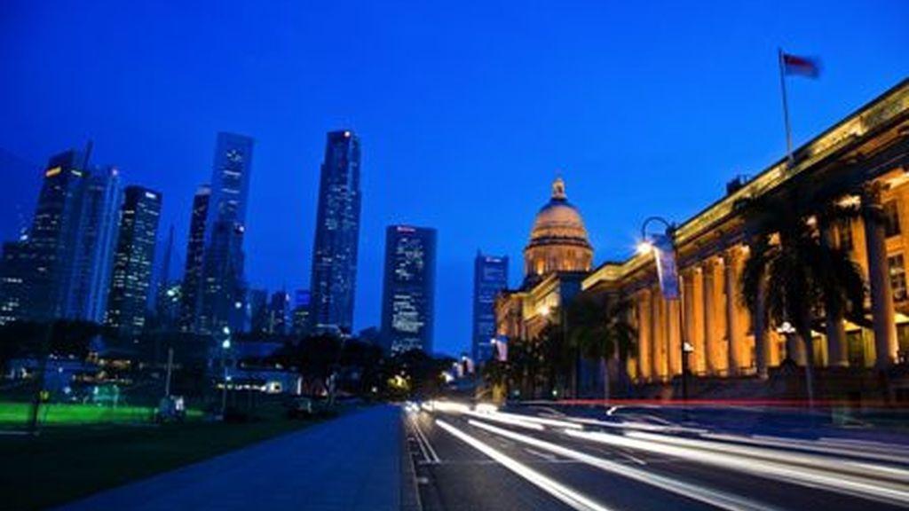 Imagen del circuito de Singapur. Foto: Archivo