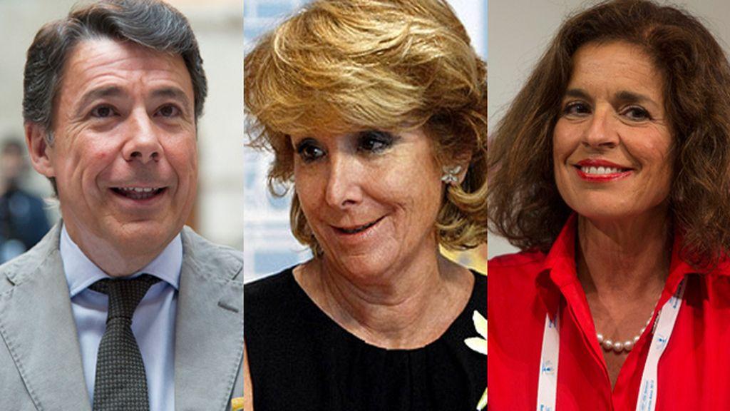 González, Aguirre y Botella irán a la manifestación por las víctimas del terrorismo