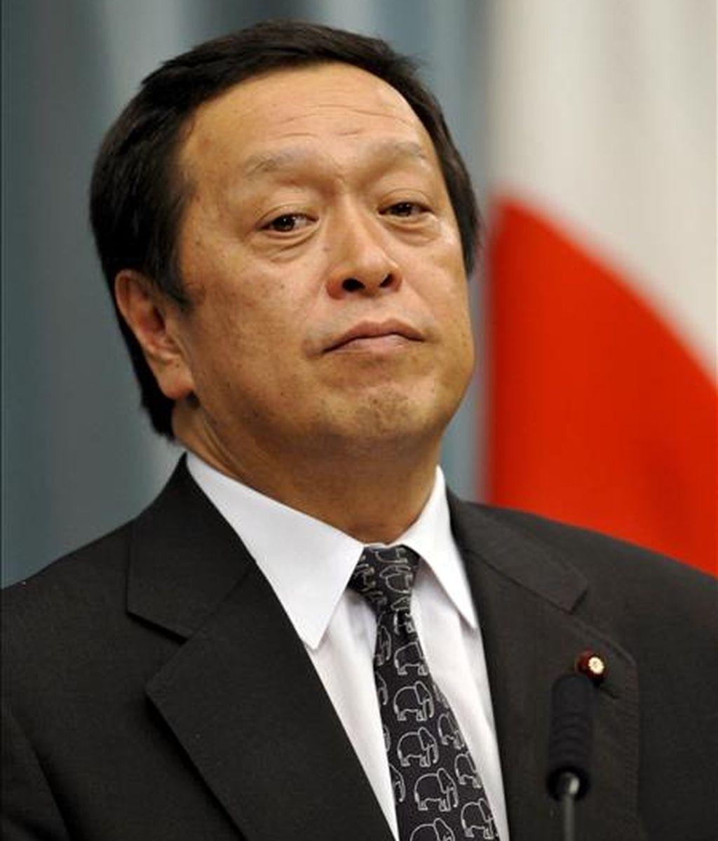 El ministro de Defensa japonés Yasukazu Hamada. EFE/ARCHIVO