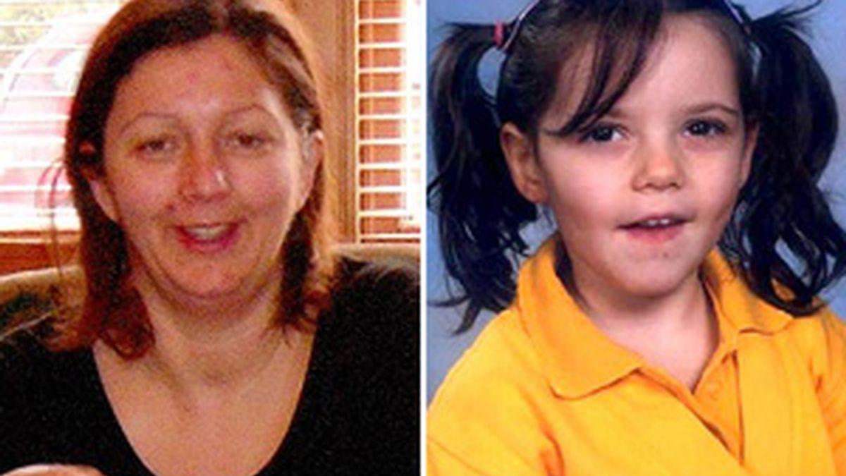 Julie y su hija, Maisie. FOTO: Daily Mail.