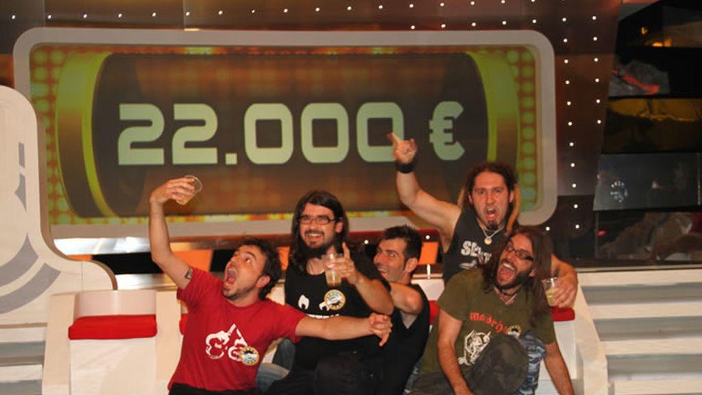 Los RockFest se llevaron un bote de 22.000 euros