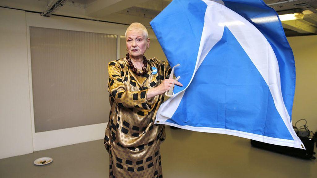 La diseñadora quiere una Escocia más influyente