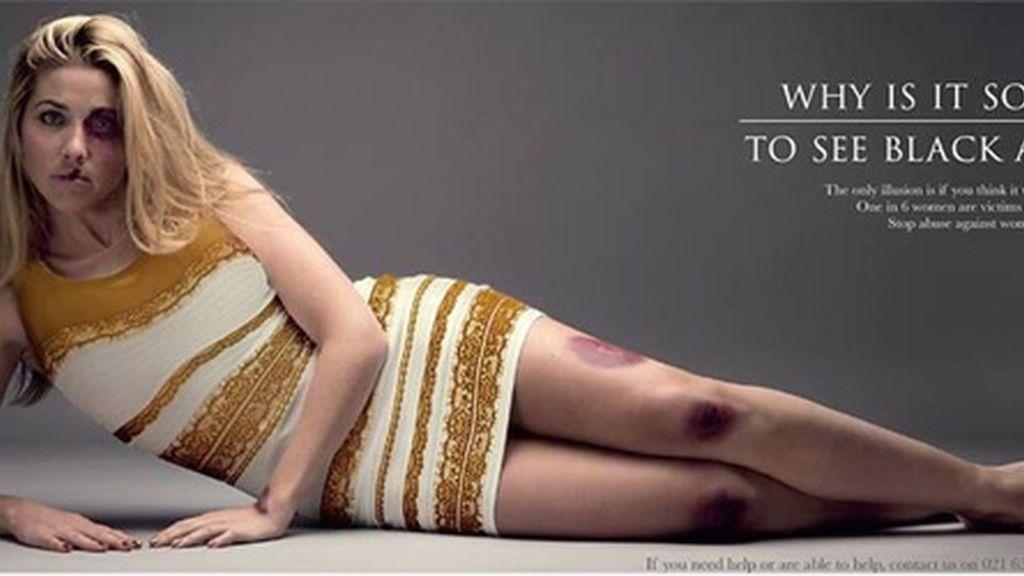 #thedress reclama una campaña contra la violencia de género