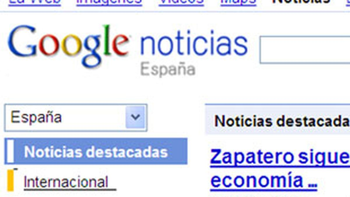 Google decide limitar el acceso gratuito a noticias. Foto: Google News.