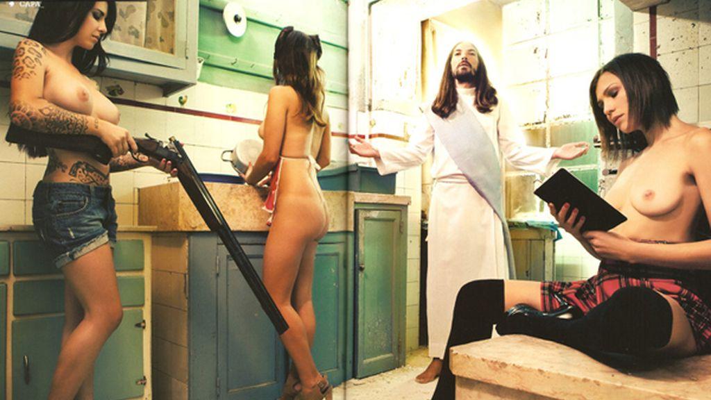 El Evangelio contado por Playboy