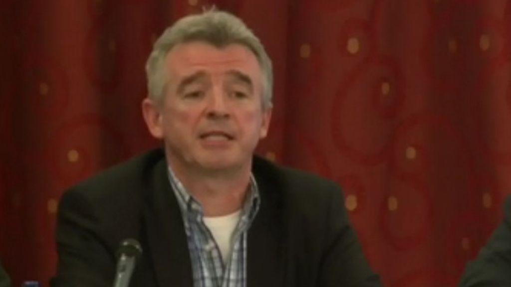 El presidente de Ryanair, Michael O'Leary