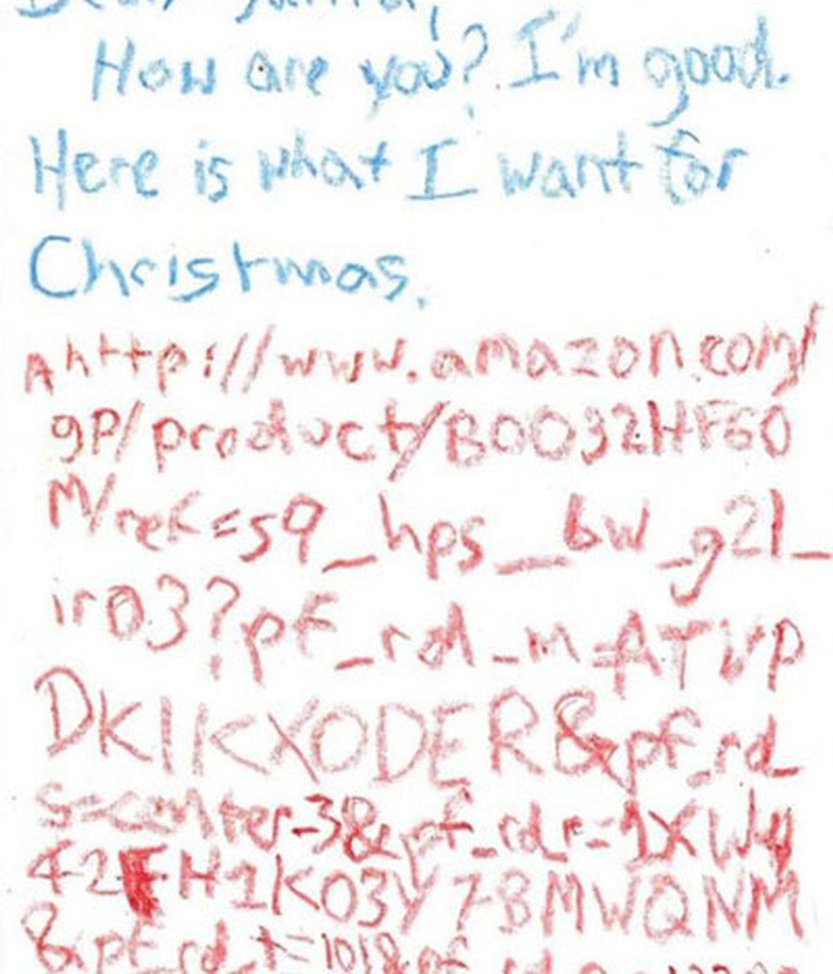 Un niño escribe la carta más original a Papá Noel