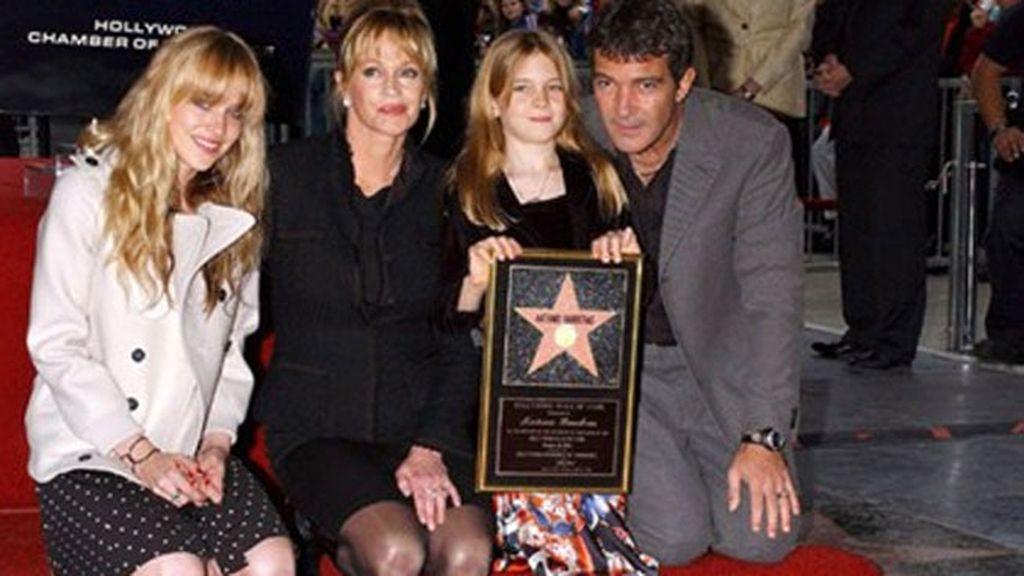 Melanie Griffith siempre ha acompañado a Antonio Banderas