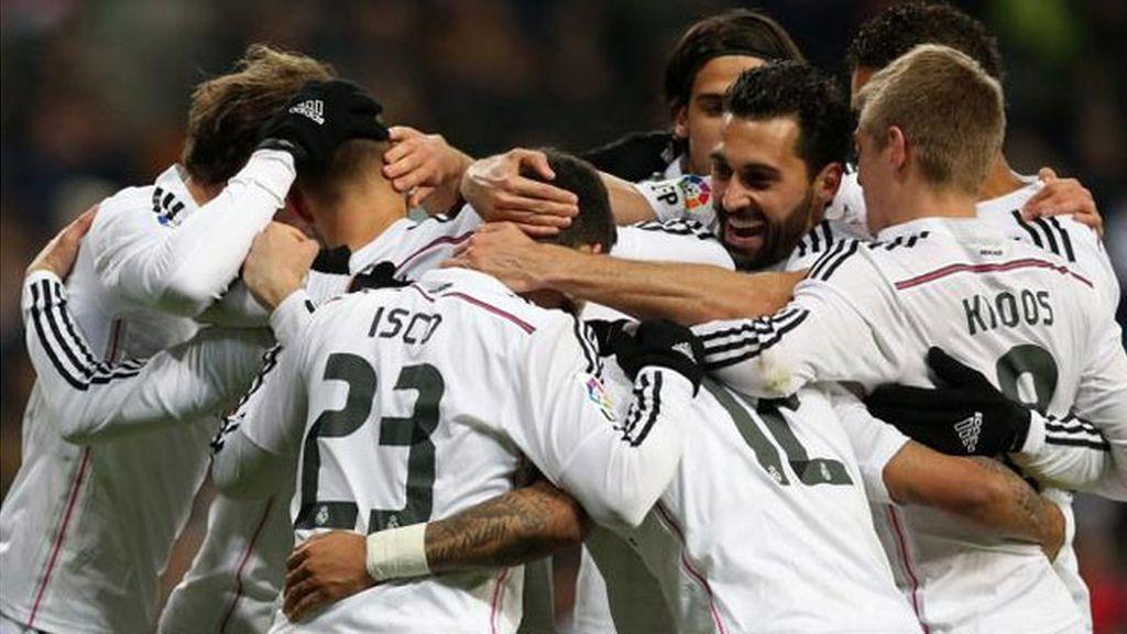 El Real Madrid se escapa en el liderato antes de ir al Calderón