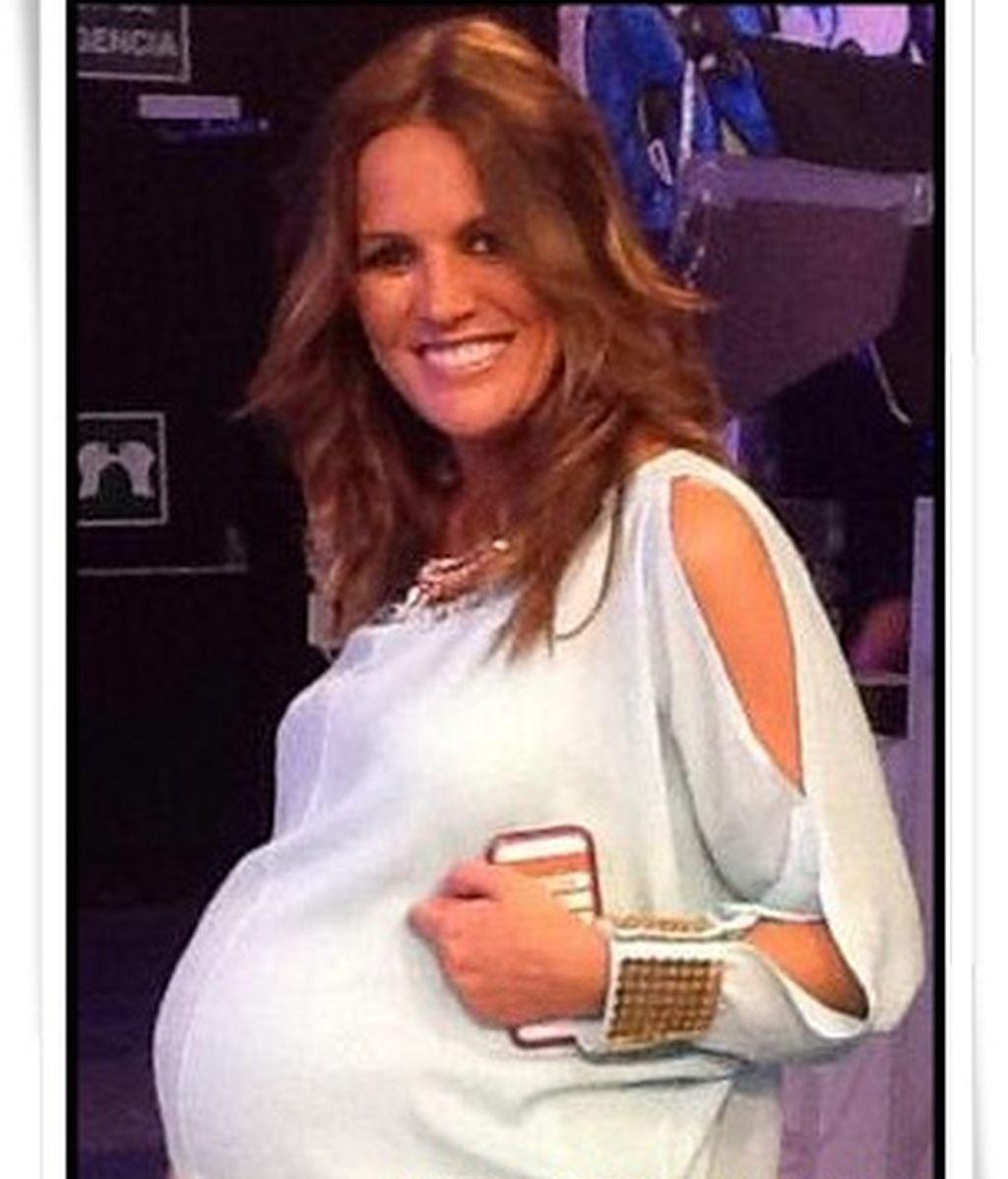 Marta López ya es madre de su tercer hijo