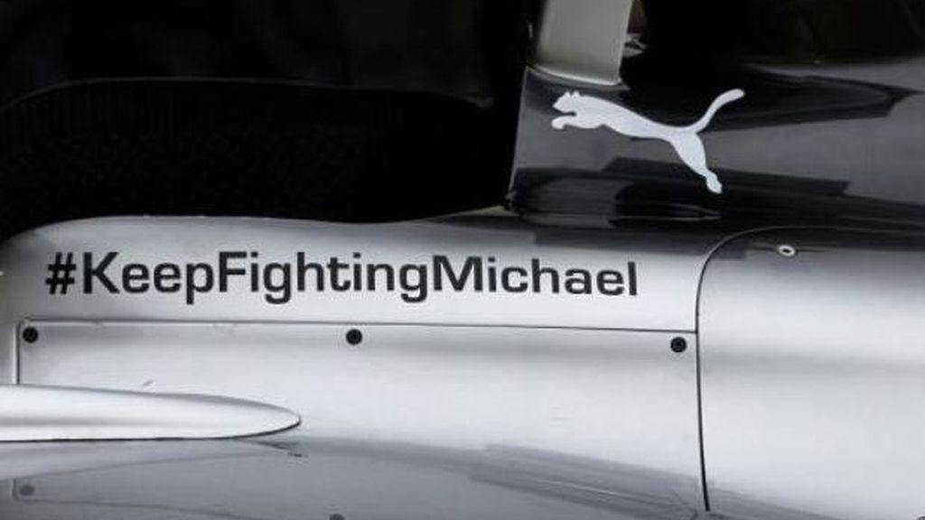Mercedes apoya a Michael Schumacher