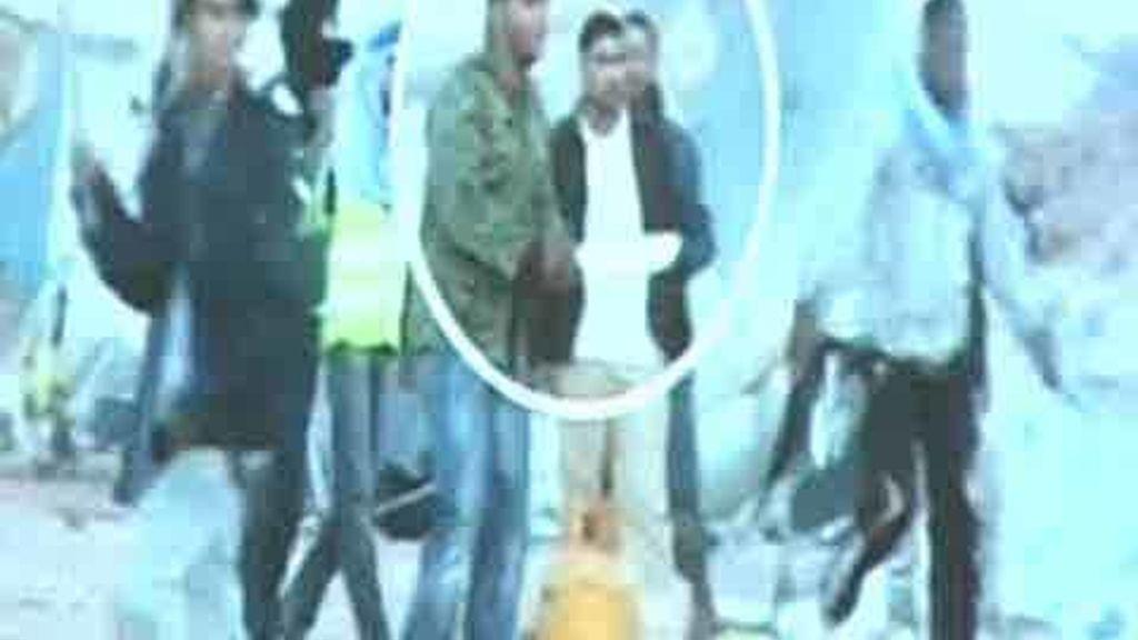 Imagen de los disturbios en El Aaiún difundida por Marruecos