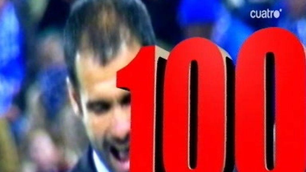 Pep Guardiola: 100 victorias como técnico culé