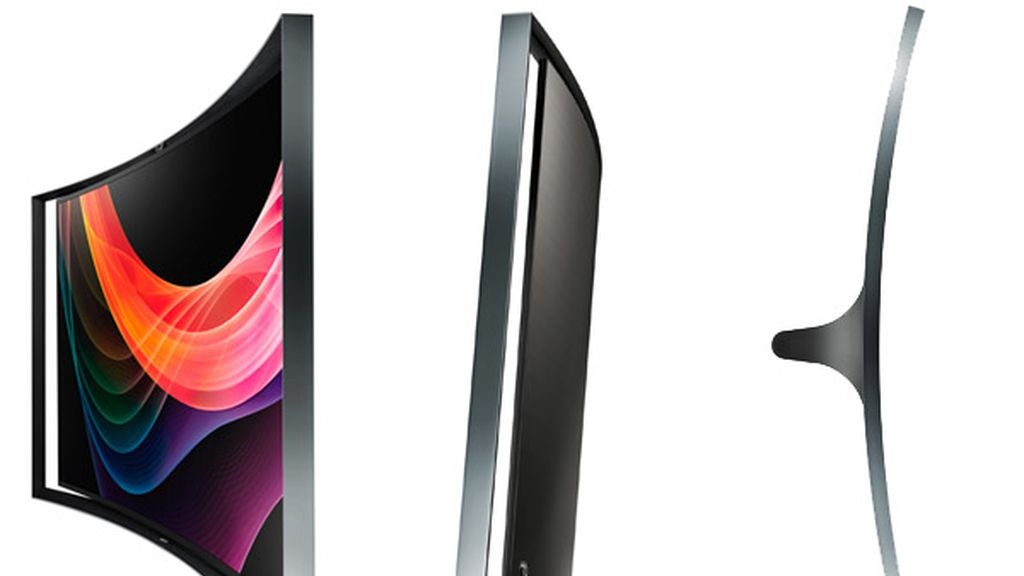 Samsung,televisores curvados,smartphones pantallas curvadas,