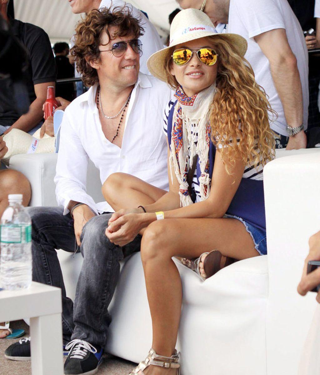 Paulina y Colate salen de paseo por Miami con Andrea Nicolás