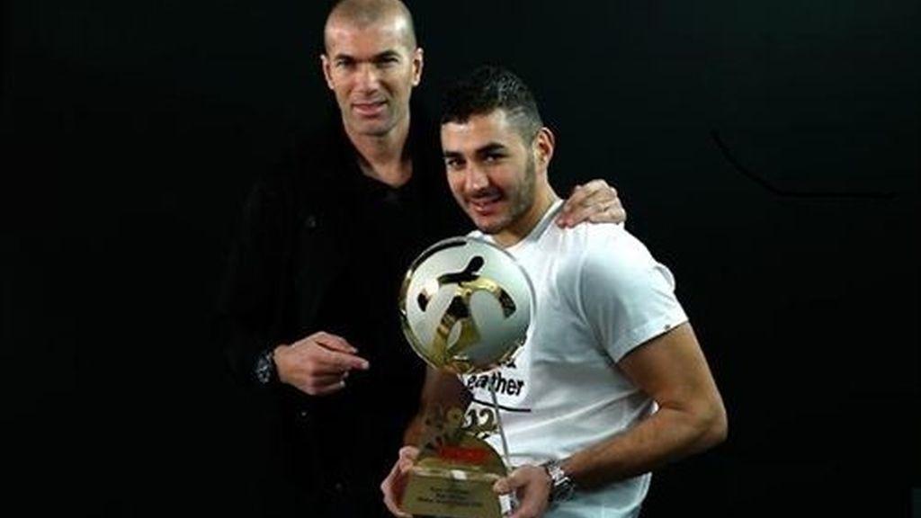 Benzemá, 'Mejor Jugador francés' del año