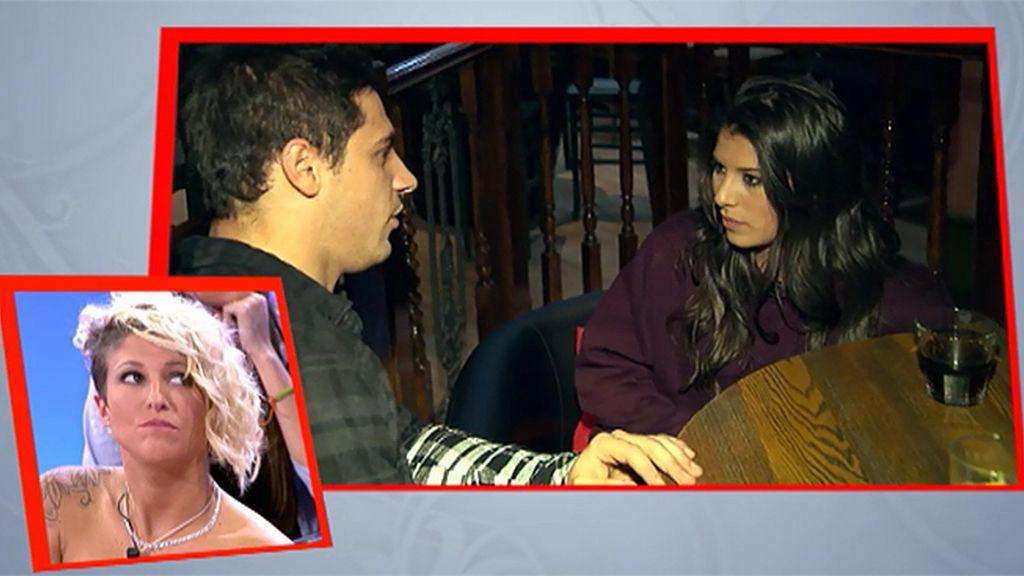 """Paula, a Álex: """"Sufro por María, es una rival fuerte"""""""