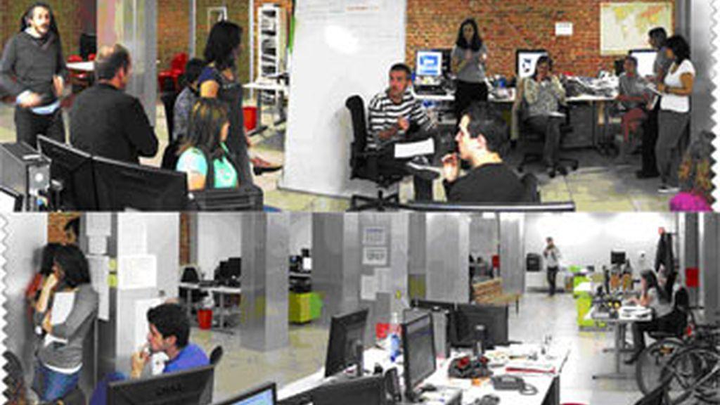 Fotomontaje con imágenes de la redacción de Soitu.