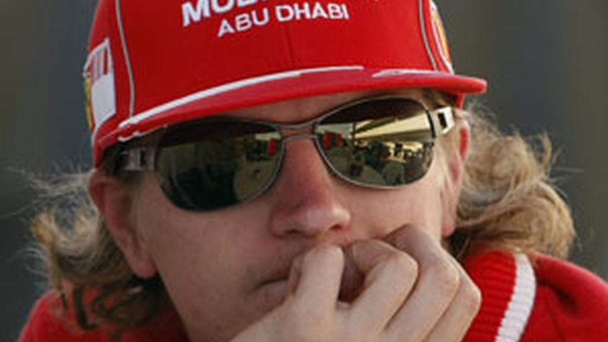 Kimi Raikkonen en una imagen de archivo. Foto: Reuters