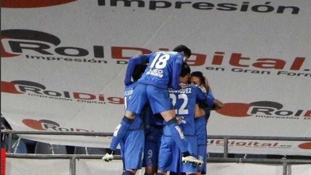 Sarabia guía el triunfo del Getafe ante el Espanyol