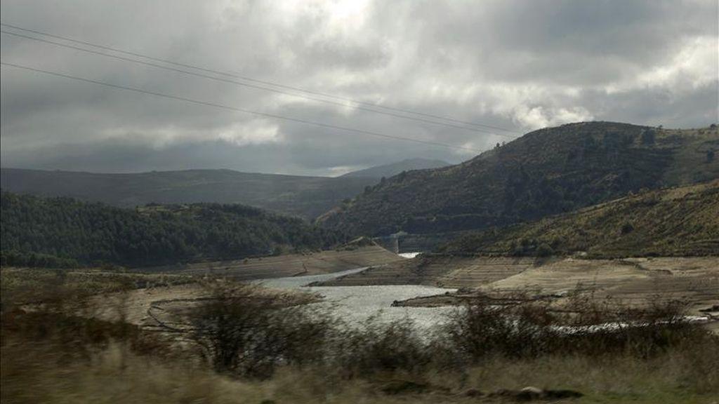 Pantano de Peguerinos, en Ávila. EFE/Archivo