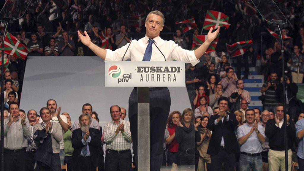 Mitin de cierre de campaña del PNV en Bilbao
