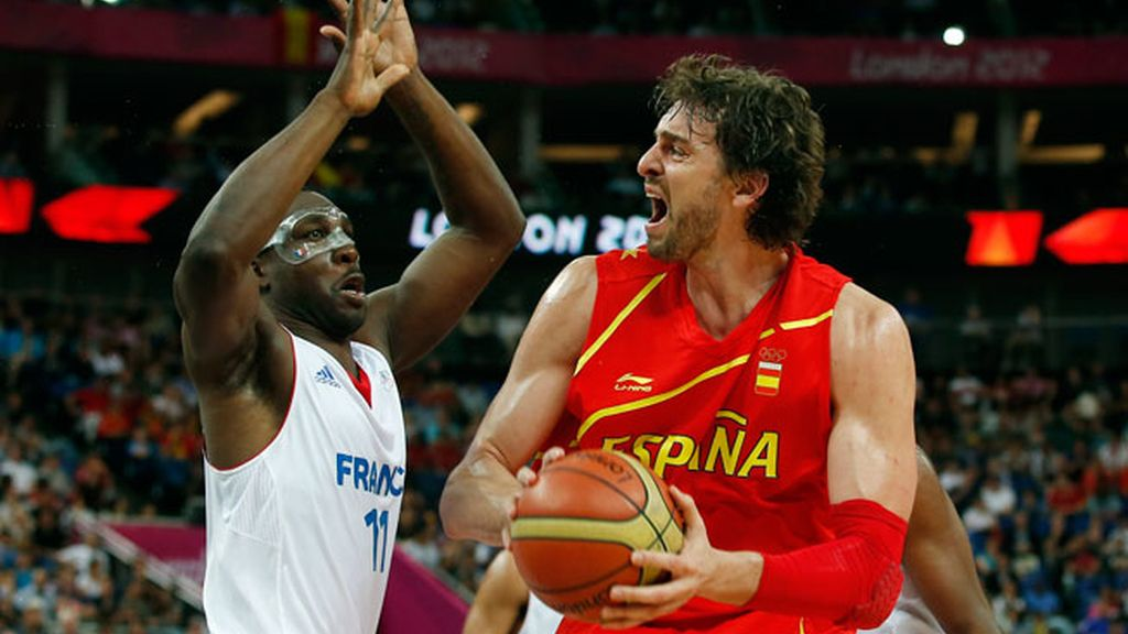Selección española de baloncesto en Londres 2012