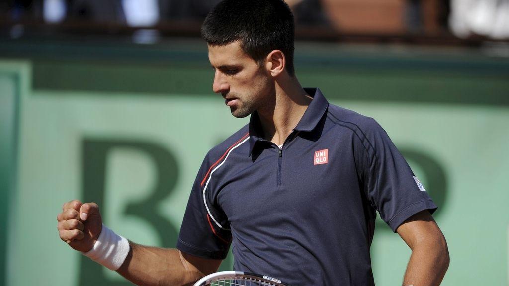 Djokovic se mete en la final tras eliminar a Federer
