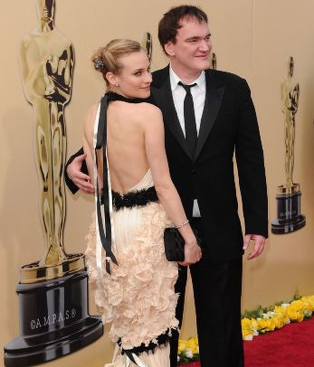 Quentin Tarantino y Diane Kruger