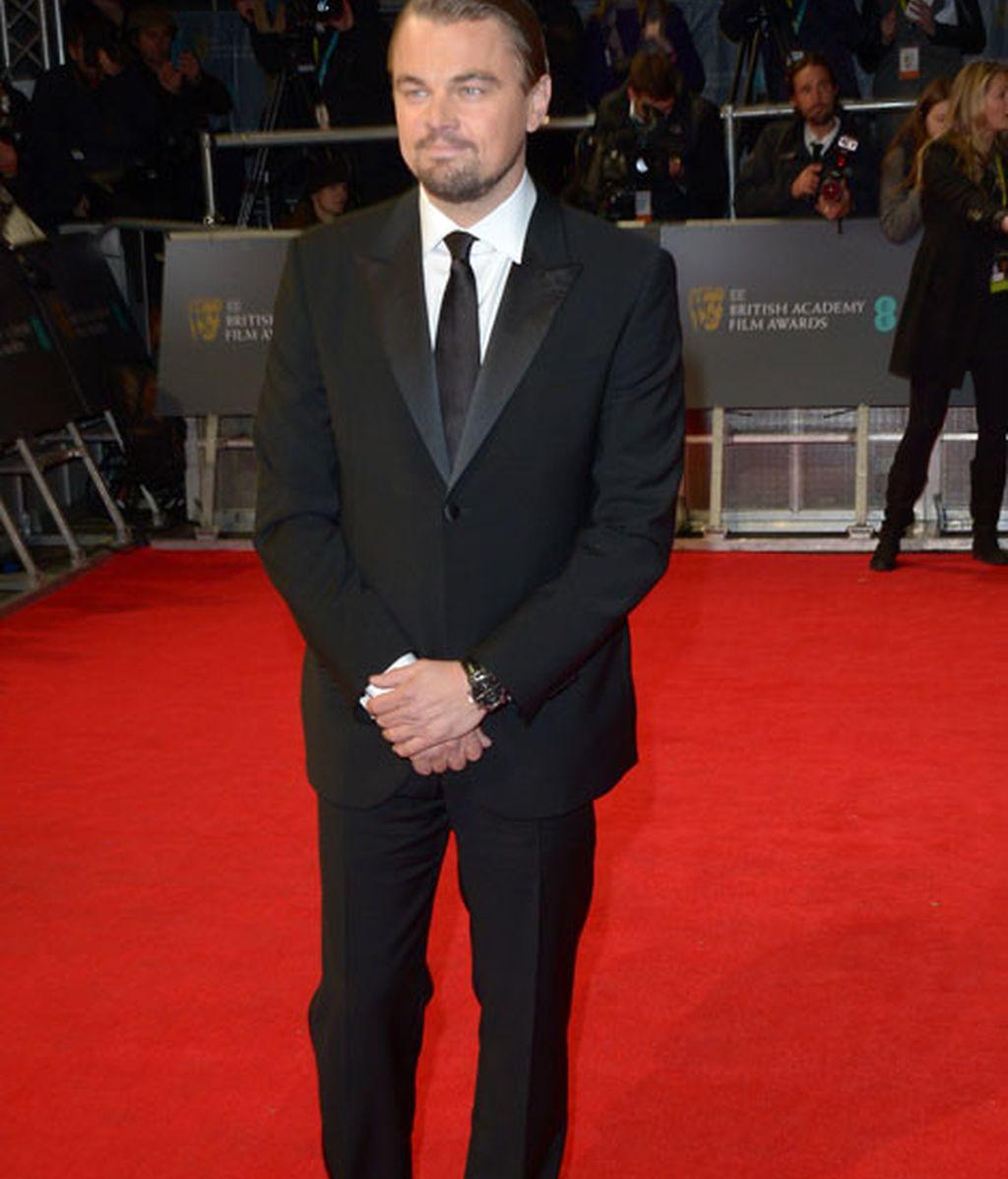 Leonardo Di Caprio, elegante 'lobo de Wall Street'