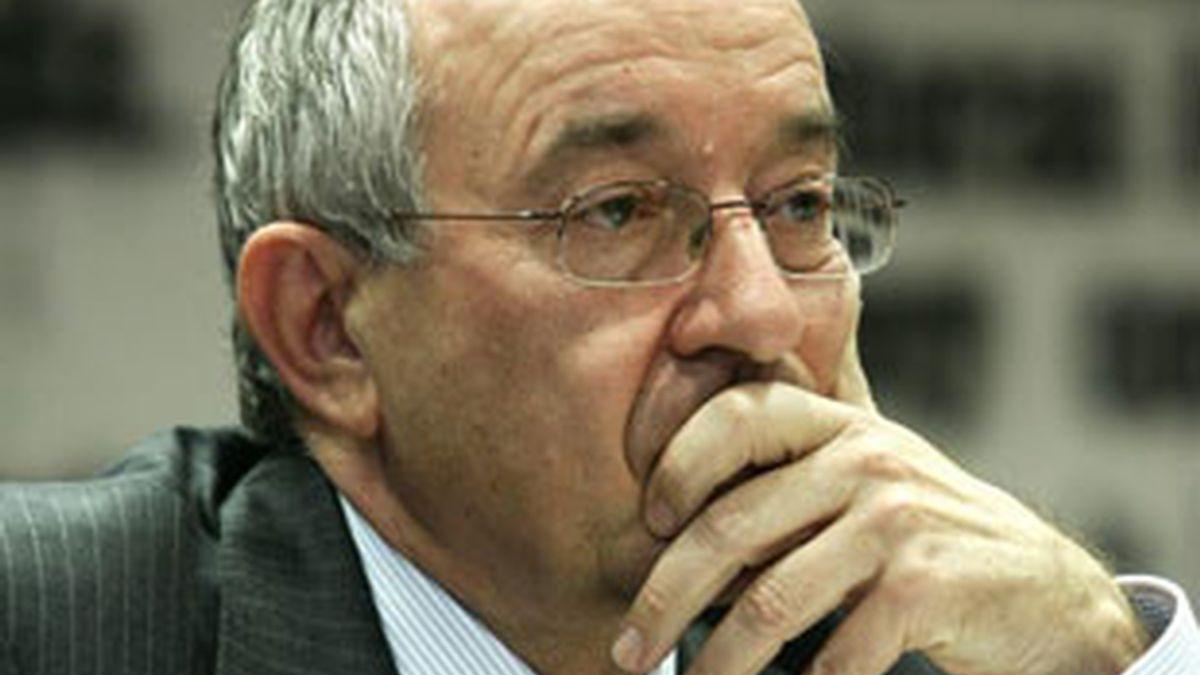 Miguel Ángel Fernández Ordóñez, gobernador del Banco de España.