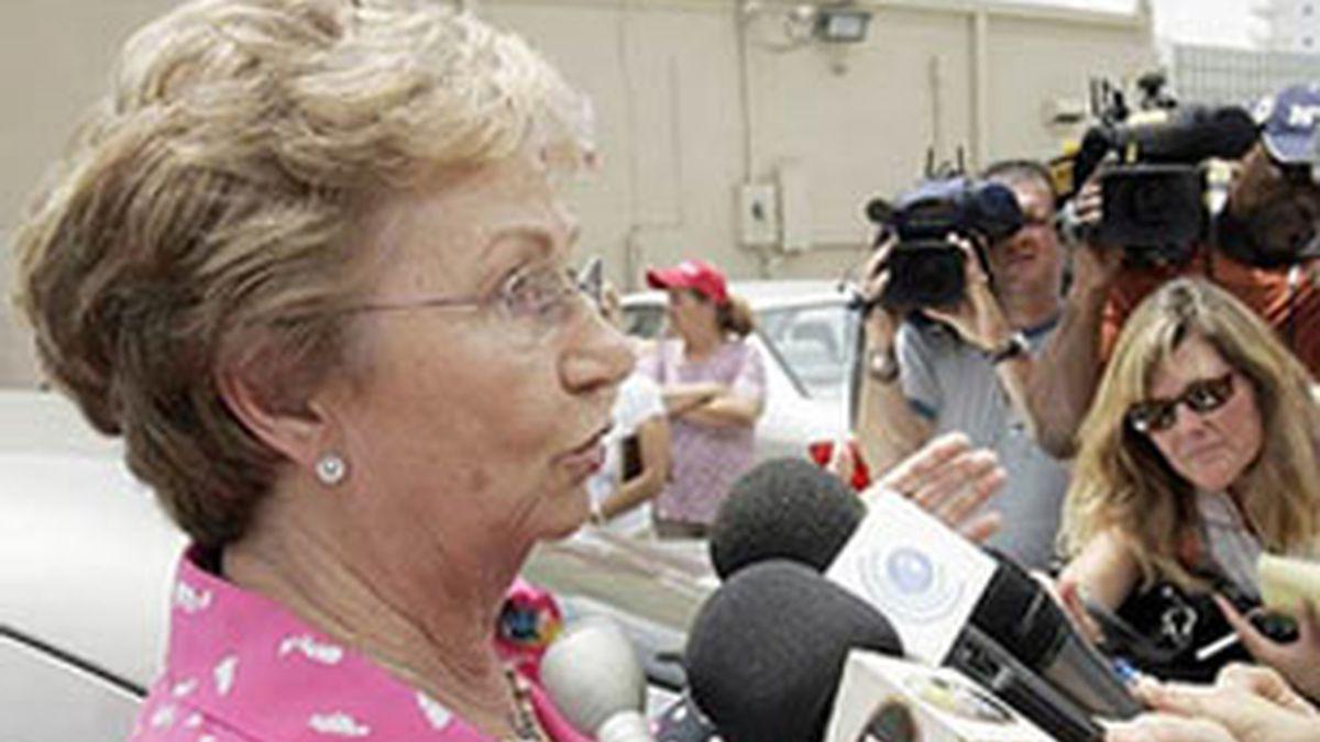 Imagen de archivo de Juanita Castro. Foto: AP
