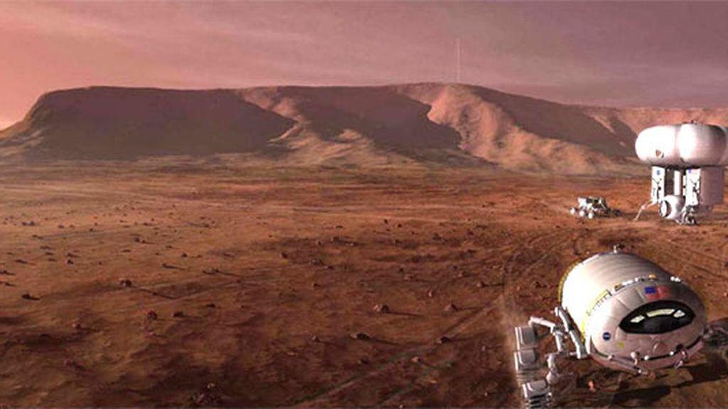 NASA,Marte,oxígeno en Marte,vida en Marte,