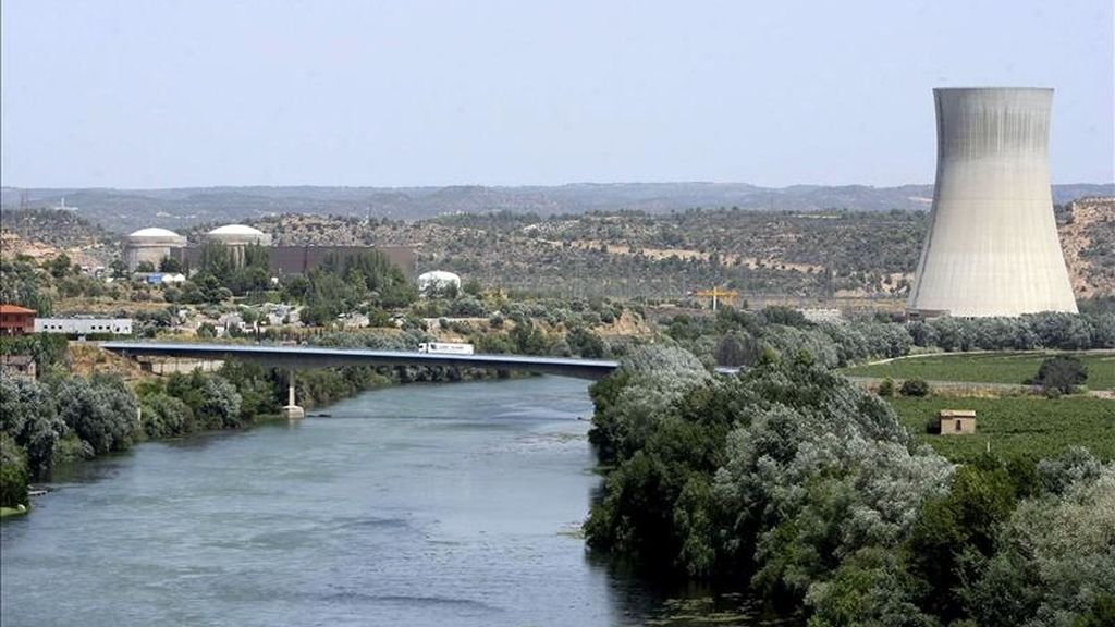 Vista de la central nuclear de Ascó, en Tarragona. EFE/Archivo