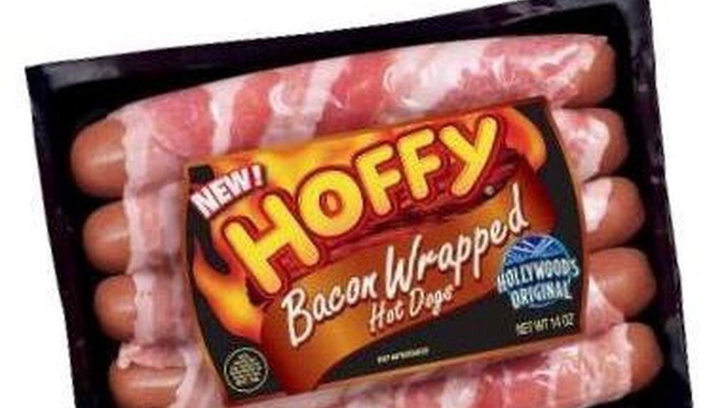 Salchichas con bacon