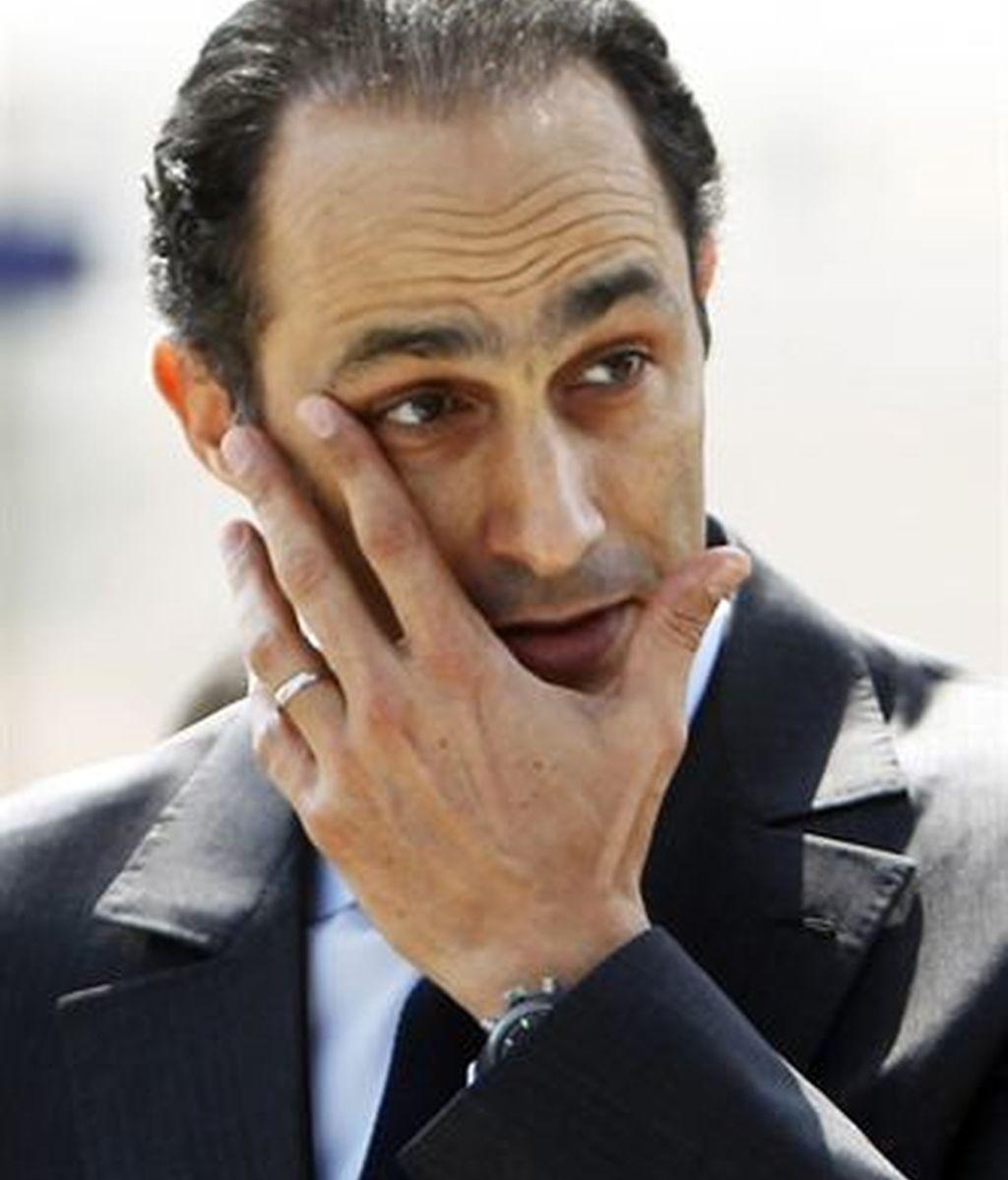 Hijo mayor de Mubarak